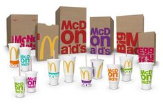 McDonald's Packaging Gets a Colorful Makeover---It is interesting to see how a brand evolves itself to it's consumers.