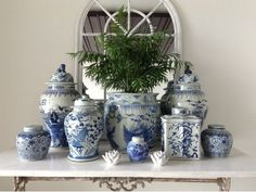 Just to inspire you, and also to do a little advertising for my shop, here's a post full of blue and white gorgeousness. Whether in a colle...