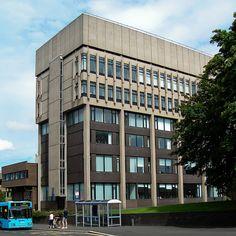 Coventry University School of Art  Design Cox Street. AKA The Bugatti Building (1961) by andymcgeechan, via Flickr