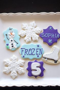 FROZEN!--cookies https://www.facebook.com/soonersugar