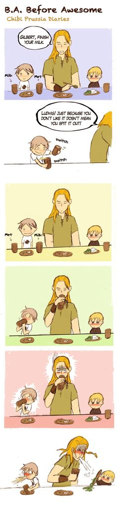 Prussia Before Awesome... this is freaking hilarious..