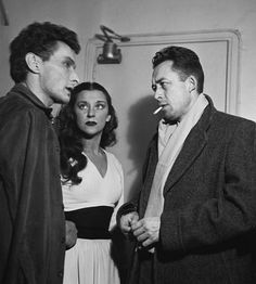 Albert Camus with Jean-Louis Barrault and Maria Casarès