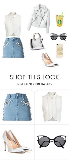 """1-20"" by cbbh on Polyvore featuring moda, Emanuel Ungaro, Miss Selfridge, Gianvito Rossi e Sonix"