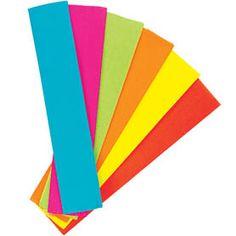 Fluorescent Crepe Paper