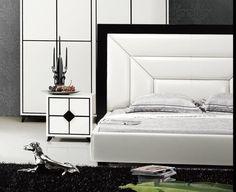 Stylish Design Furniture - Giana - Modern Leather Tufted Bed, $1,455.00 (http://www.stylishdesignfurniture.com/products/giana-modern-leather-tufted-bed.html)