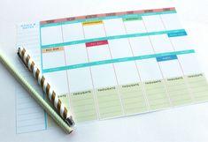 Free Printable: Weekly Planner   Mockeri