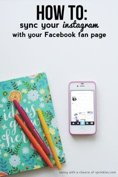 How to Sync your Instagram with your Facebook Page