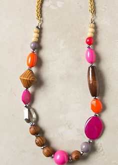 #anthropologie Pieced Prism Necklace