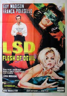 exploitation movie posters | Flesh of Devil (LSD) Movie Poster (1968) || EXPLOITATION Movie Posters ...