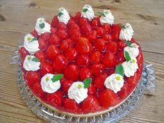 Erdbeerkuchen mit Vanillepudding, ein sehr schönes Rezept aus der Kategorie Kuchen. Bewertungen: 64. Durchschnitt: Ø 4,5.