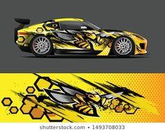 Auto Design, Custom Hot Wheels, Custom Cars, Car Wrap Design, Vinyl For Cars, Pickup Trucks, Car Drawings, Car Painting, Car Decals