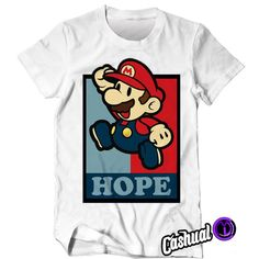 mario bross t-shirt