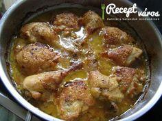Must�ros hagym�s csirke