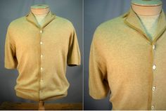 Vintage 1960's Men's Cashmere Sweater by Rustology on Etsy, 26.00