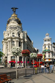 Madrid, Spain - been here and was totally blown away by the beauty of the place - August 2011.