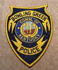 Bowling Green Kentucky Police Patch