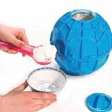 Play & Freeze Ice Cream Maker - put the ice cream ingrediants in the ball, kick the ball around and open it when ur done and eat homemade icecream!