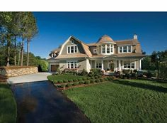 Shingle House Plan with 5342 Square Feet and 4 Bedrooms from Dream Home Source | House Plan Code DHSW69305