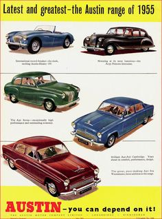 Austin Cars, The Austin, The Good German, Austin Healey, Summer Barbecue, My Dream Car, Dream Cars, Car Advertising, A30