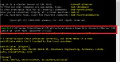 vSphere PowerCLI: Remove from the inventory una VM