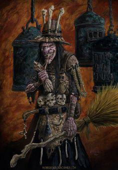 Carnivore witch by vikingmyke.deviantart.com on @DeviantArt