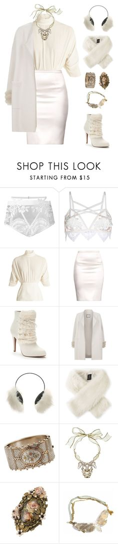 """""""Moth Queen"""" by say13579 ❤ liked on Polyvore featuring For Love & Lemons, Emilia Wickstead, Jennifer Lopez, Max & Moi, Steve Madden, Helen Moore, Olivia Collings Antique Jewelry and Bijoux Heart"""