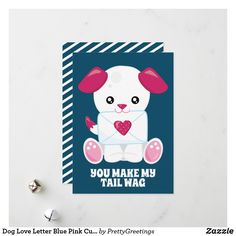 Puppy Valentines, Valentine Day Cards, Holiday Cards, Christmas Cards, Cute White Dogs, Christmas Card Holders, Love Letters, Dog Love, Merry