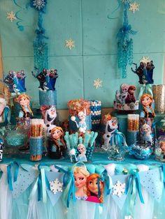 Disney Frozen Birthday Party Ideas   Photo 7 of 27   Catch My Party
