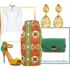 """""""African Bright and Colourful"""" by missashanii on Polyvore"""