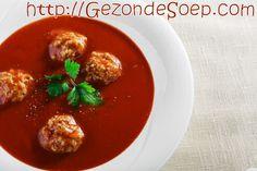 Maak dit beproefd recept om lekkere tomatensoep met balletjes te maken zodat je op elk moment van het jaar zal genieten: voor lunch of avondmaal, voor kinderen en volwassenen.