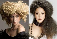 Acconciatura capelli con frisè autunno inverno 2017