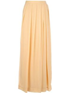 Love the So Nice pleated maxi skirt on Wantering.