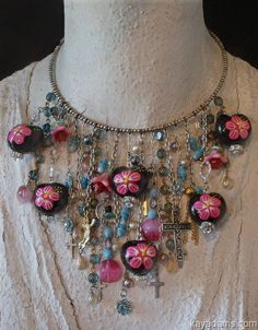 Another nice one...     Memory Wire of Many Memories  A Bib Necklace of by KayAdams, $155.00