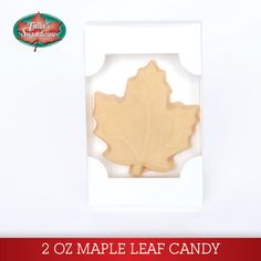 2.0 oz. Maple Leaf – Pure Maple Syrup Candy