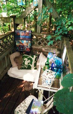 Create a balcony escape.