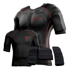 Titin Force 20 lb Shirt System // Steel Blue Meet the world's only weighted compression gear. The TITIN Force? 20 Lb Shirt System System is a three part hyper gravity system. The first part of the system i. After Workout, Post Workout, Workout Gear, Fun Workouts, Hard Workout, Weighted Vest, Workout Results, 20 Pounds, Weight Training