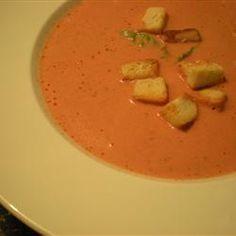 Sopa crema de tomates fácil @ allrecipes.com.ar otra