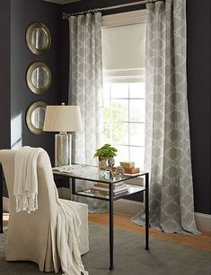 10 Decorating and Design Ideas from Pottery Barn& Fall Catalog Living Room Decor, Living Spaces, Bedroom Decor, Living Rooms, Bedroom Ideas, Master Bedroom, Pottery Barn Fall, Dark Grey Walls, White Walls