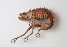 江本創|幻獸標本箱 The Japanese artist Hajime Emoto's wonderful creatures http://curioushistory.com/post/46304505783/monsters-demons-and-dragons#.UtLSm2TuKPd