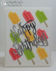 Stampin' Up! Cool Treats Happy Birthday – Stamp With Amy K