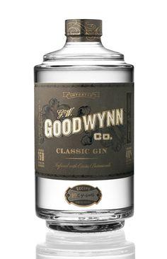 Goodwynn Gin, designed by cultpartners.com