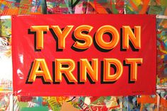 Banner by Gary Martin Signs, via Flickr