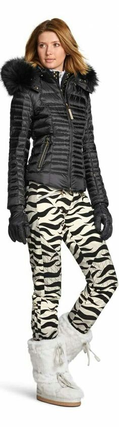Bogner Woman's ski Fashion is dynamic, valuable, sporty  Due its perfect fit and distinct design theBognerwoman'sski fashioncollection is the first choice for active females, who want to combine fashion quality with a fancy aura. Doesn't matter if you wear it with sporty accessories or plain – Bogner Woman means sportswear on prêt-à-porter level