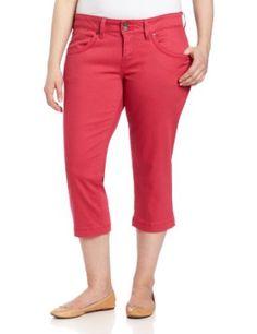 Levi's Women's 542 Plus Capris Back Flap Pocket Pant, Tulip Pink, 22 Medium Levi's. $42.99