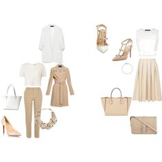 Working neutrals by arianne-mccullough on Polyvore featuring Orla Kiely, BCBGMAXAZRIA, Zara, Blaque Label, River Island, Valentino, Christian Louboutin, Moreau, Aspinal of London and Kate Spade