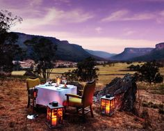 "Wolgan Valley Resort & Spa, Australia's first luxury conservation-based resort, is celebrating autumn in Australia with the ""Autumn Retreat"" package for gourmet aficionados.  via notcot"