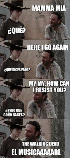 carl de the walking dead