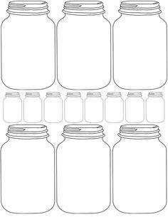 Mason+Jar+Invitation+Templates+Free | DIY Printable Mason Jar Printables http://arusticlove.blogspot.co.uk ...