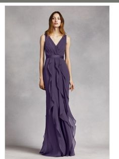 Used Vera Wang Bridesmaid Dress Size 8 for $100. You saved 47% off of retail! Plan the perfect wedding at OnceWed.com!