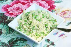 Parsnip Rice with Hemp Seeds, Spring Peas, and Basil Hemp Seed Recipes, Raw Food Recipes, Raw Vegan, Vegan Vegetarian, Plant Based Whole Foods, Smoothie Recipes, Smoothies, Hemp Seeds, Basil